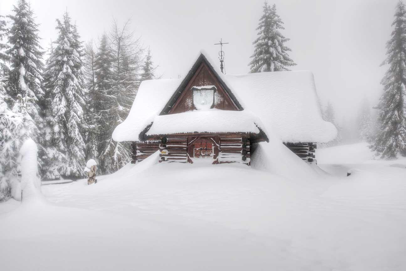 Zimowa Kapliczna na Turbaczu