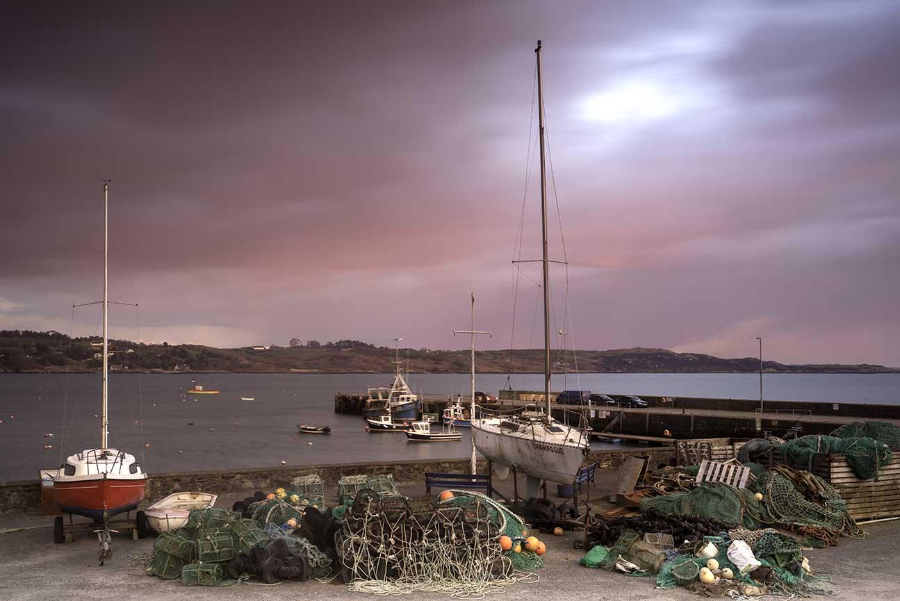 Irlandia Port Ocean Atlantycki