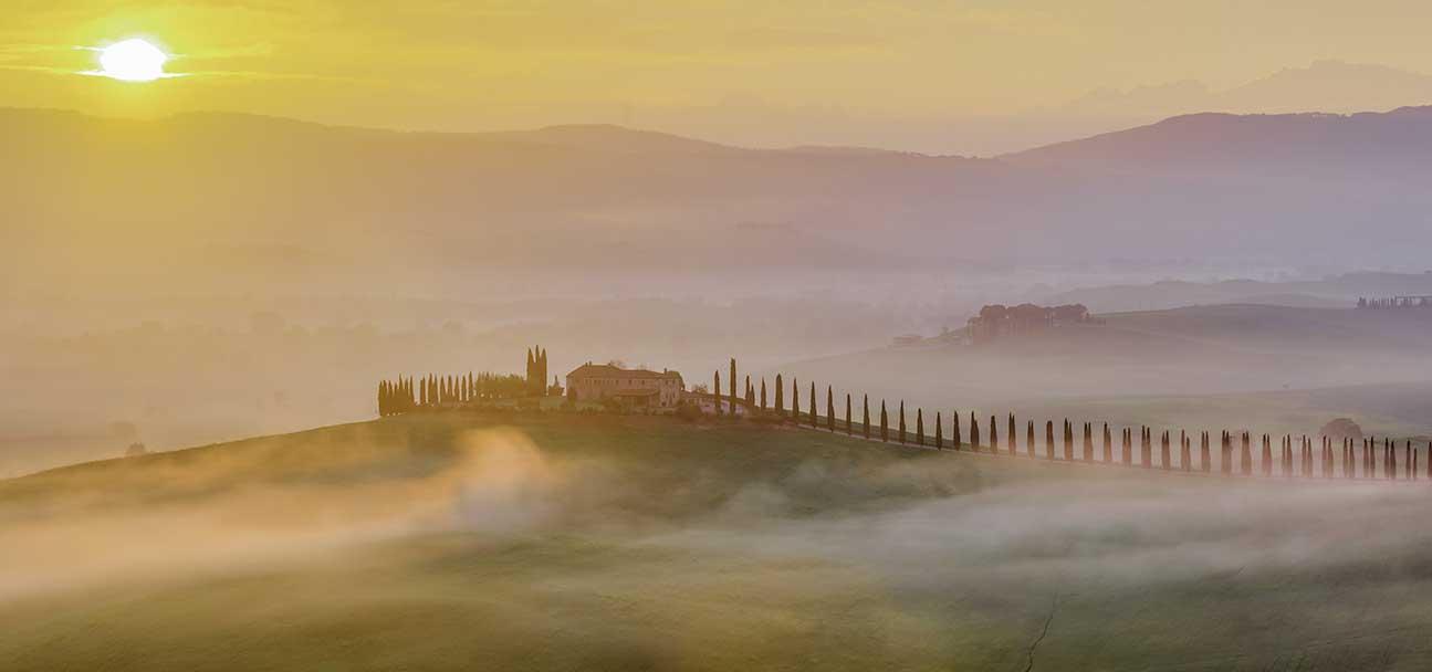 Toskania Panorama 02